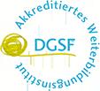 Logo DGSF – Akkreditiertes Weiterbildungsinstitut